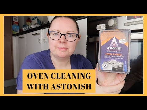 OVEN CLEANING WITH ASTONISH OVEN & GRILL