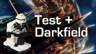 "Microscope ""Bresser Biolux NV"" Test and Darkfield Modification"
