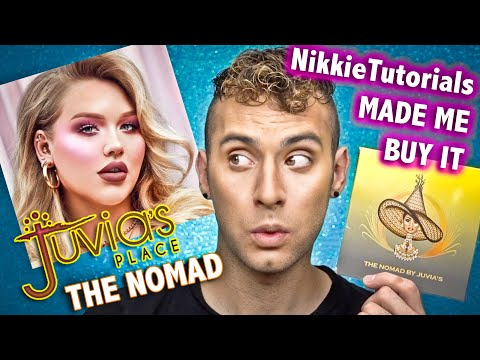 NIKKIETUTORIALS Made Me Buy It! Juvia's Place THE NOMAD Palette Review! thumbnail