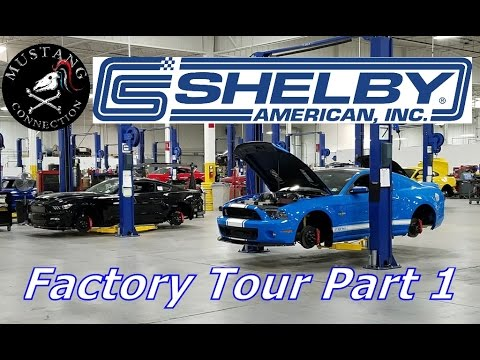 Shelby Factory tour behind the scenes! Shelby GT500 SuperSnake  Shelby GTE Mustang Connection
