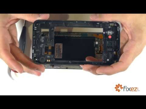 LG Optimus G Pro Screen Repair & Disassemble