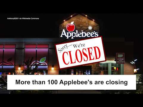 More than 100 Applebee's are closing