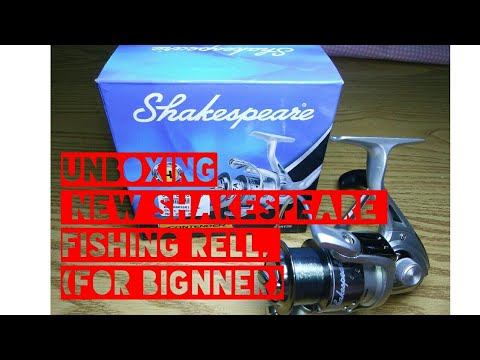 Unboxing New Shakespeare _Contender_ Fishing Reel In (HINDI)