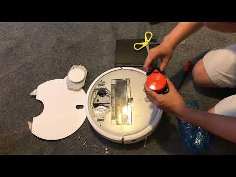 How to change Laser Distance Sensor for xiaomi robot vacuum cleaner