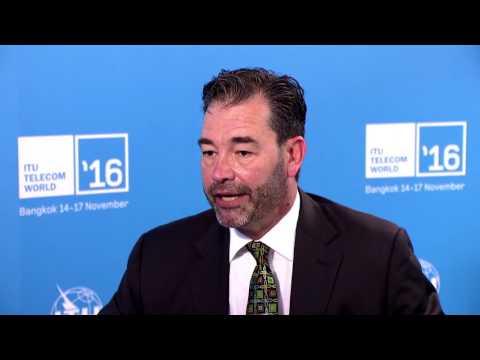 ITU TELECOM WORLD 2016: John Galvin, VP. Government & Education, Intel Corporation