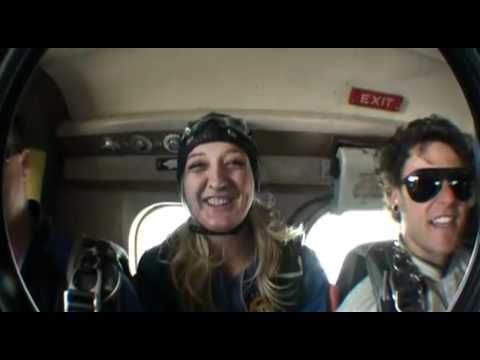 Ashley Abraham SKYDIVES!!