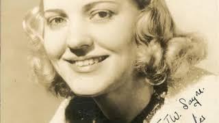 Gershwin: Porgy and Bess, Act I - Summertime - Helen Jepson (1935)