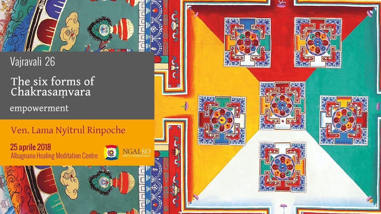Special Event with The Most Venerable Lama Niytrul Rinpoche