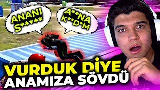 VURDUK DİYE AĞIR KÜFÜR ETTİ ANAMIZA SÖVDÜ!! | PUBG Mobile Erangel Gameplay