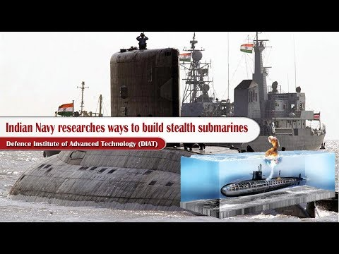 Indian Navy researches ways to build stealth submarines