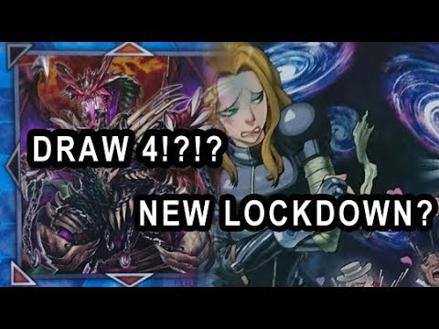 YUGIOH DRAW 4 CARDS LINK MONSTER! + A NEW LOCKDOWN? NEW CARDS!!! GIANT TRUNADE BACK?
