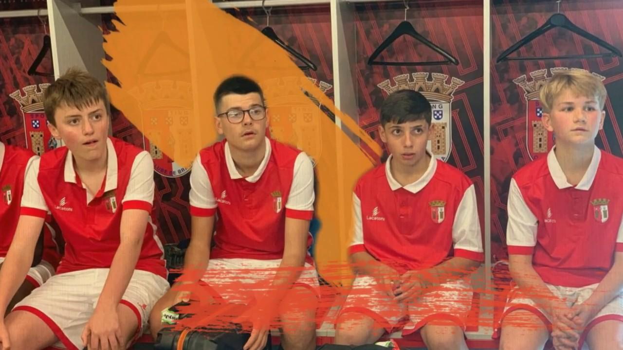 SC Braga Camp 2019 - Day 1 - YouTube