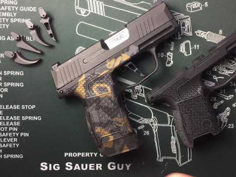 Repeat Sig Sauer P365 grip module removal and replacement by