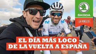 El día más loco de La Vuelta | Ibon Zugasti | La Vuelta con Škoda