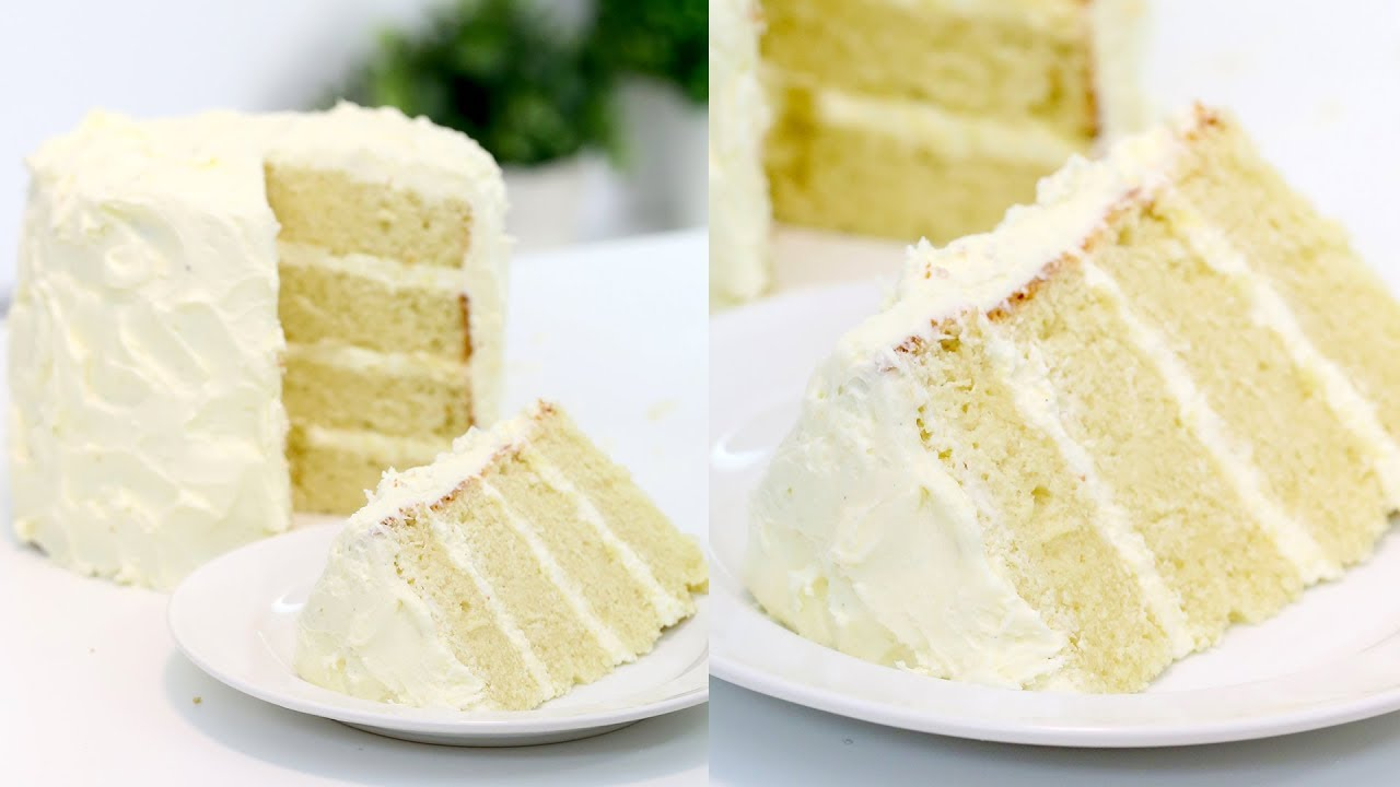 Cake Recipes In Otg Youtube: How To Make The PERFECT Vanilla Cake