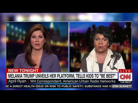 "April Ryan: Melania Trump is ""Not Culturally American"""