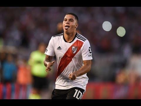 Los GOLES (Golazos) de JUANFER QUINTERO a los GRANDES | River Plate 2018-2019
