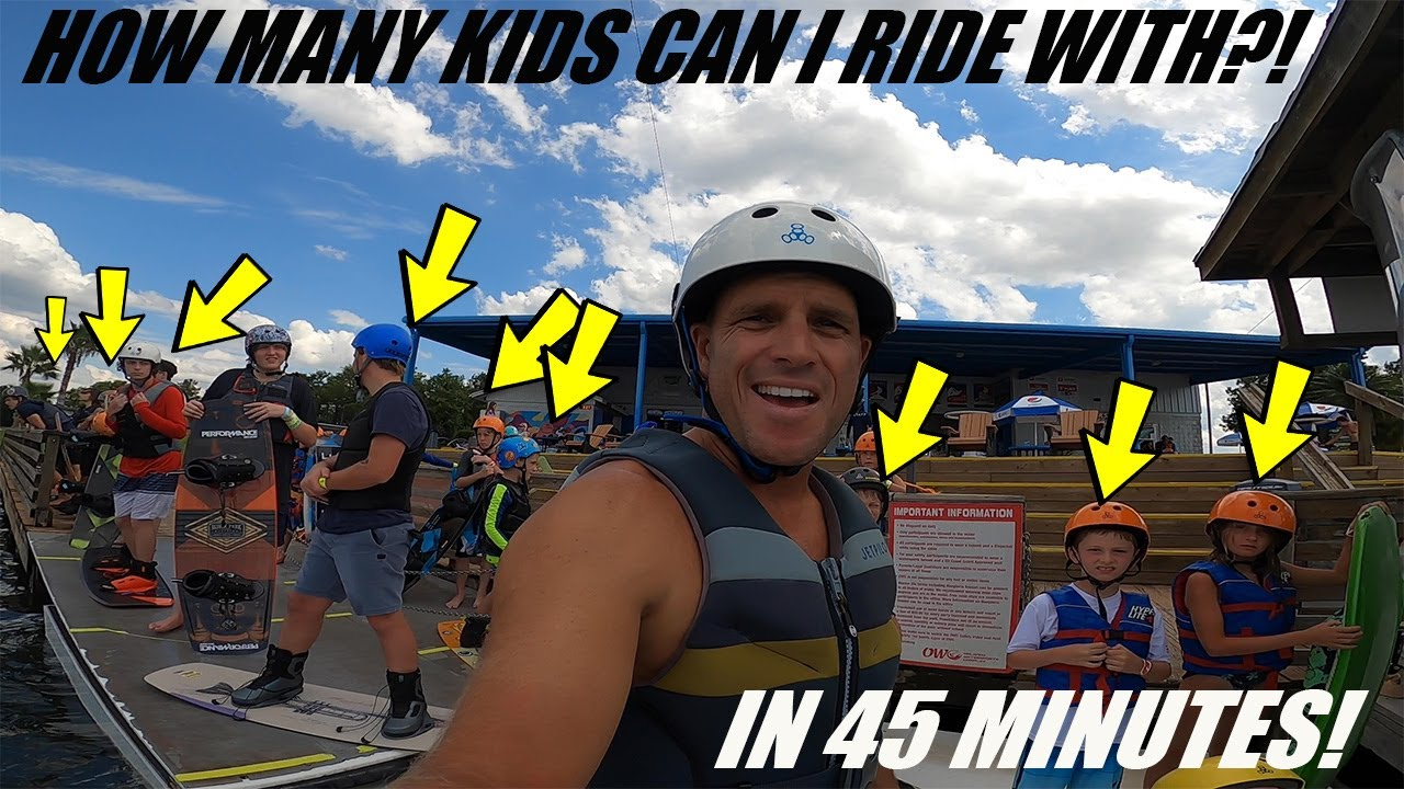 How Many Kids Can I Ride Doubles With In 45 Minutes?!