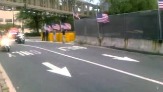 NYC arrival of  America