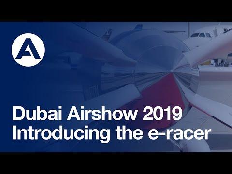 #DubaiAirshow 2019: Introducting the e-racer