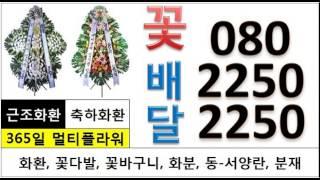 꽃집꽃배달 24시전국O8O-225O-2250 모악장례식…