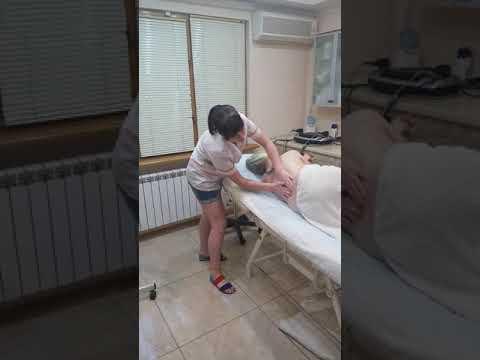 Массаж для беременных, часть 1 ( шея и спина)