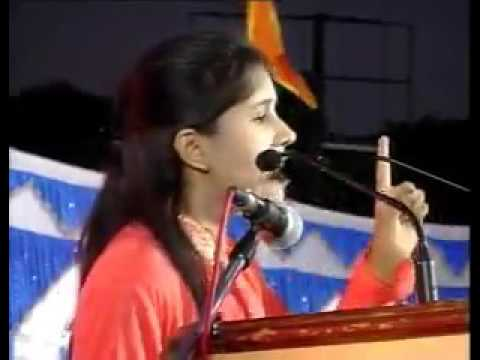 Deshbhakti speech by indian girl