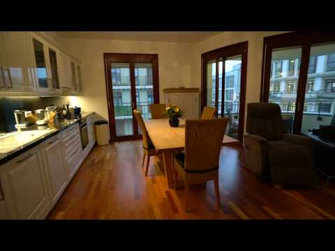 Furnished 3-Room Design Apartment with Balcony in Berlin Mitte
