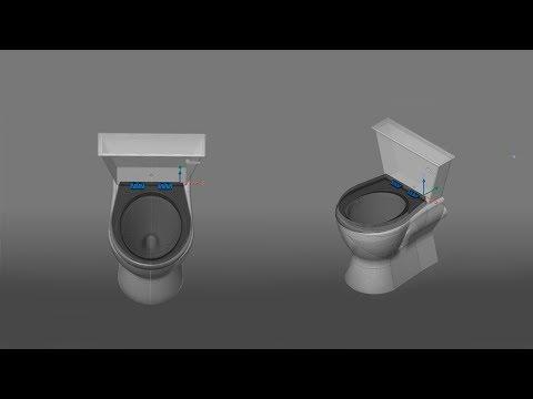 2D 3D BIM - The Toilet - The Bathroom P3