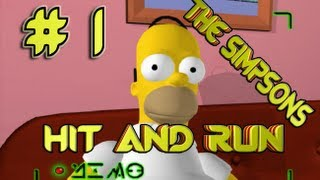 the simpsons hit and run : חלק 1 פרק  1