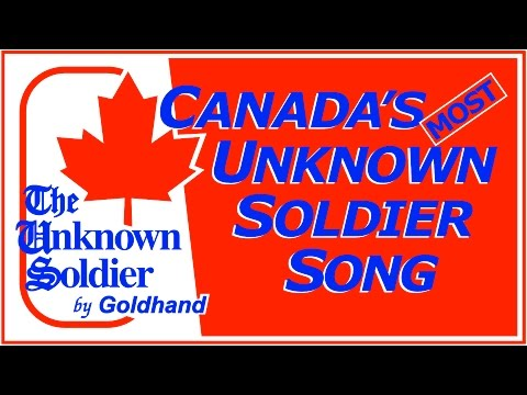 CANADA's MOST UNKNOWN Soldier Song | Poet GOLDHAND Rare 1979 Veterans Remembrance Lyric & Music