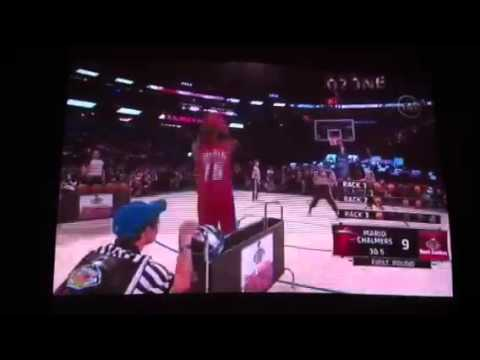 Mario Chalmers 3 point contest
