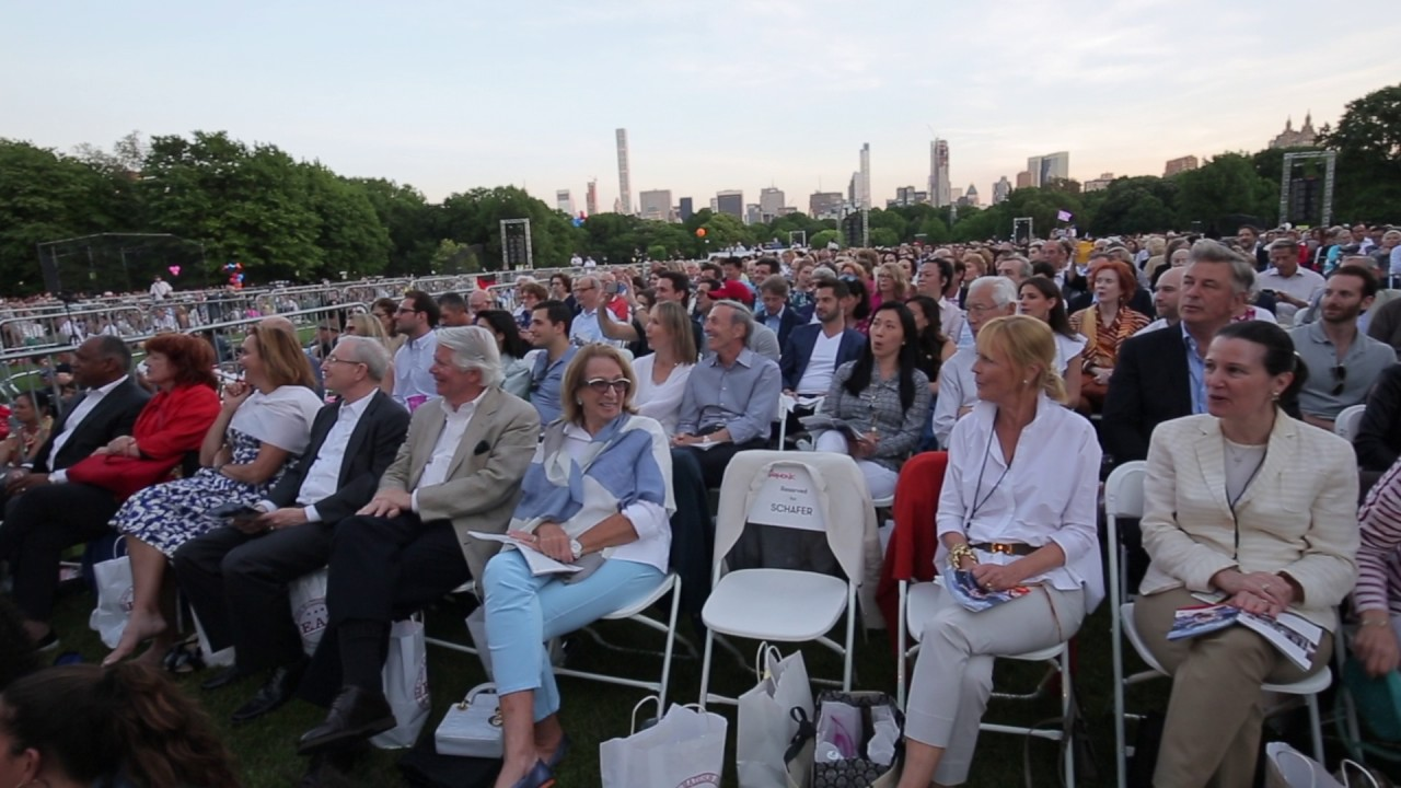 """""""New World Initiative"""" Community Performance in Central Park"""