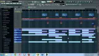 2 Chainz Riot Instrumental Remake on FL Studio 10 (Free FLP Download)