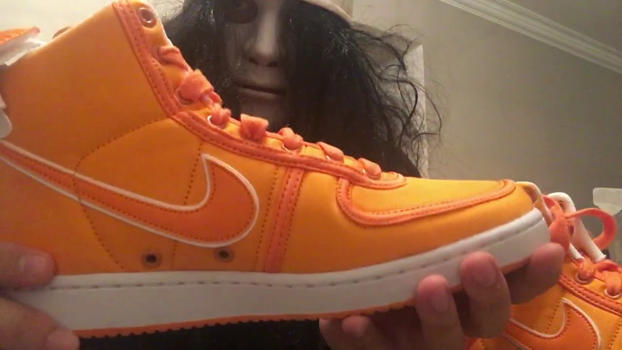 finest selection 7d5e2 82d6a Nike Vandal High Supreme Doc Brown on feet   unboxing