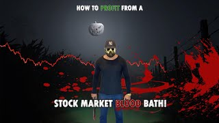 How to Profit From a Stock Market Blood Bath!