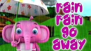 Дождик, дождик уходи | детские стишки | мультфильмы для детей | Rain Rain Go Away | Little Treehouse