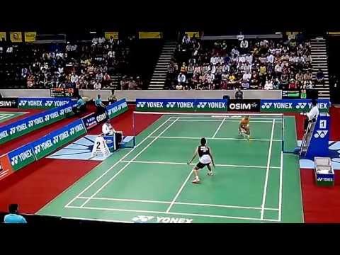Taufik Hidayat vs Parupalli Kashyap - Part 3/7 - BWF India Open 2013