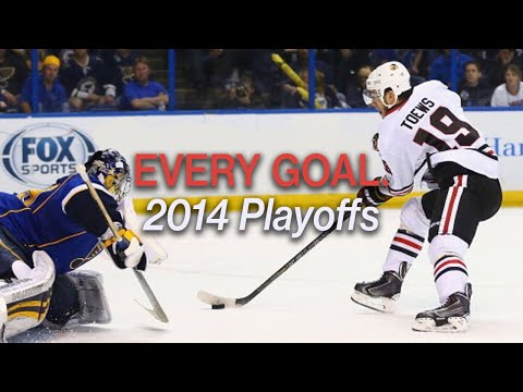 Every 2014 Playoff Goal by the Chicago Blackhawks