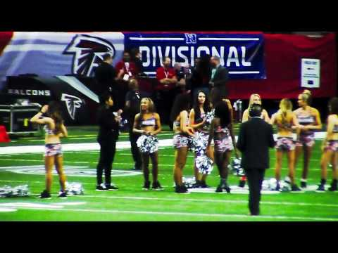 PreGame Seattle Seahawks Atlanta Falcons 2016 Playoff Game