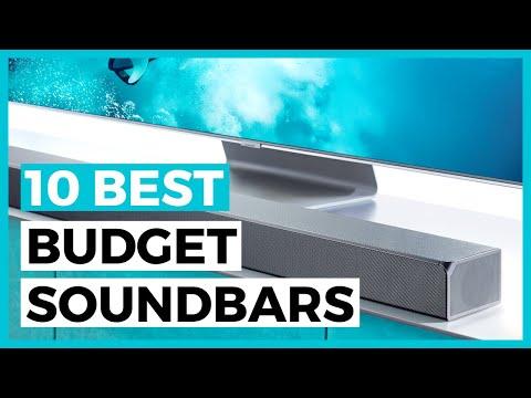 10 Best Budget Soundbars in 2020 - How to choose a cheap soundbar?