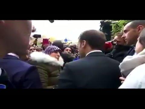 ماكرون يرد على سؤال حول مصير الطلاب واللاجئين في فرنسا  - 12:23-2018 / 2 / 22