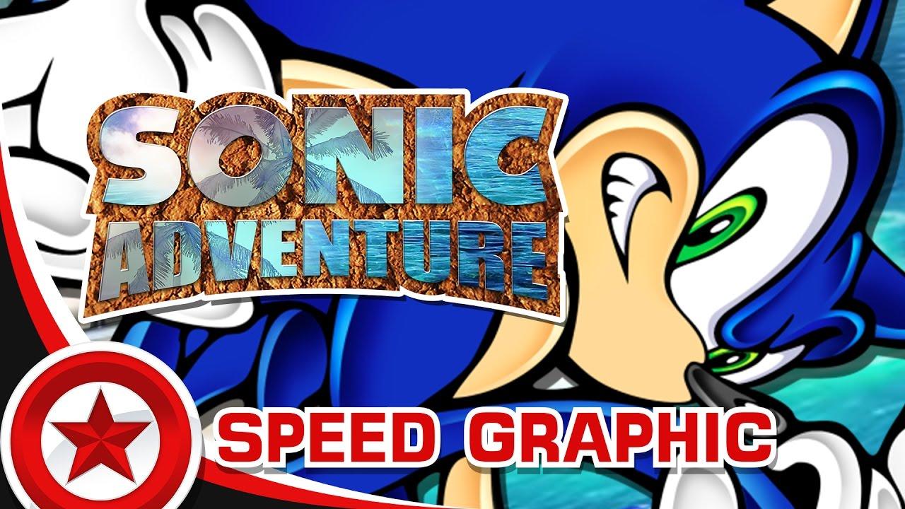 SpeedGraphic - Sonic Adventure Logo