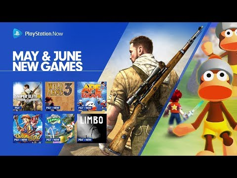 PlayStation Now - May & June 2018 Update   PS4, PC