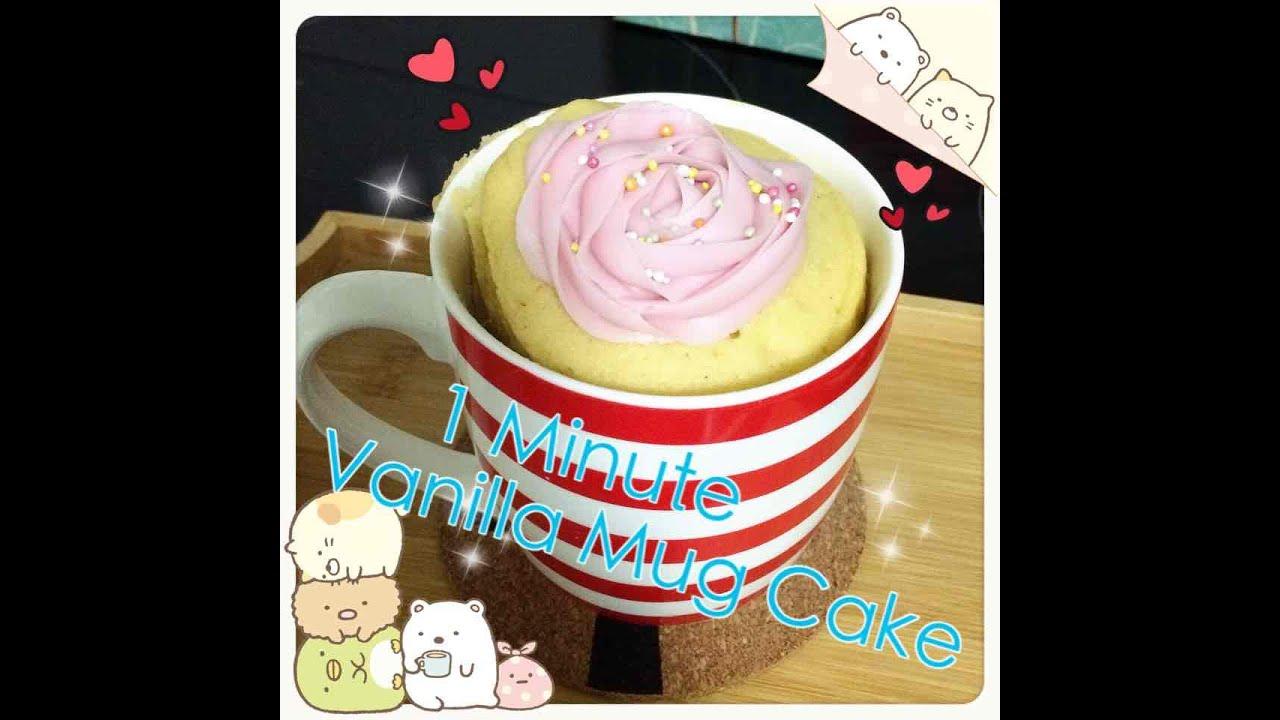 Minute Vanilla Mug Cake