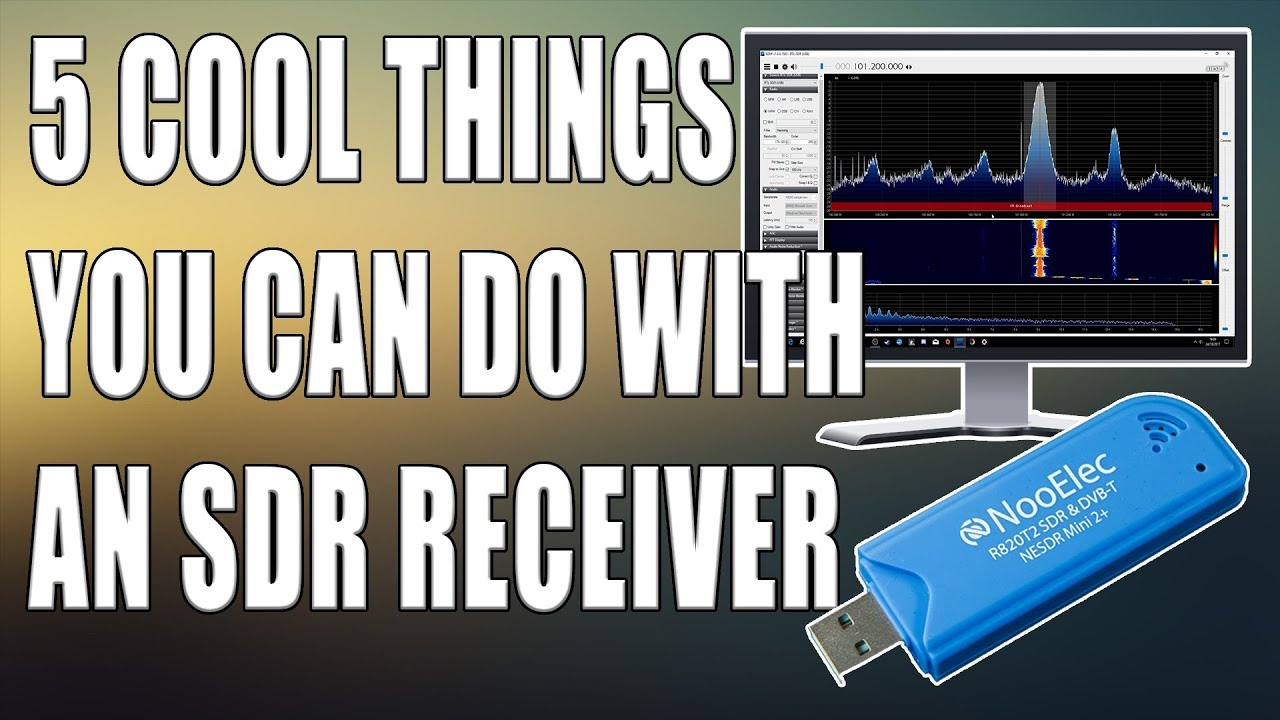 5 Cool Things You Can Do With An RTL SDR Receiver