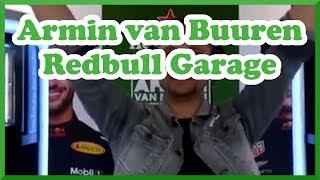 Armin van Buuren - Heineken Garage Set @ Redbull pitbox.