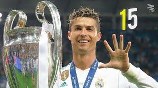 Cristiano ronaldo - all 15 record goals in champions league 2017 2018