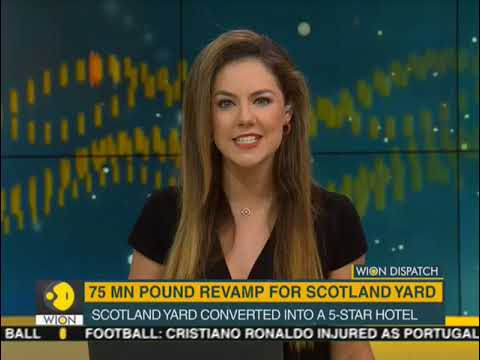Scotland yard converts into a luxury hotel