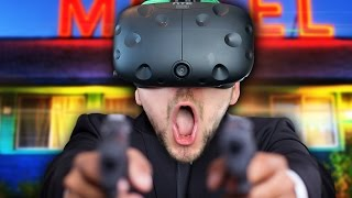 I JUST WANTED TO GO SHOPPING | Fast Action Hero (HTC Vive Virtual Reality)
